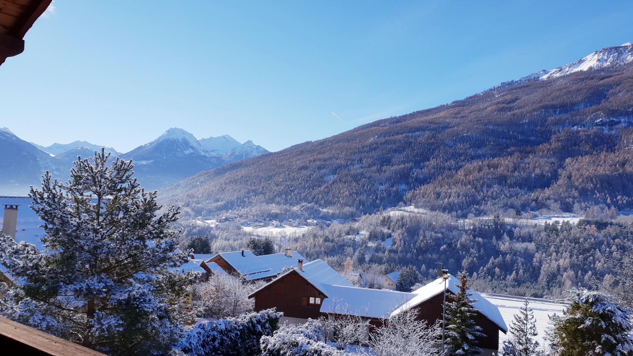 Vue balcon sur la vallée de Briançon
