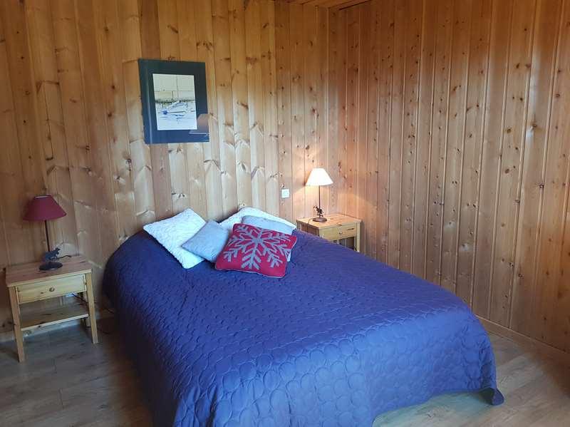 Chambre 3 à l'étage, avec salle de bains privative
