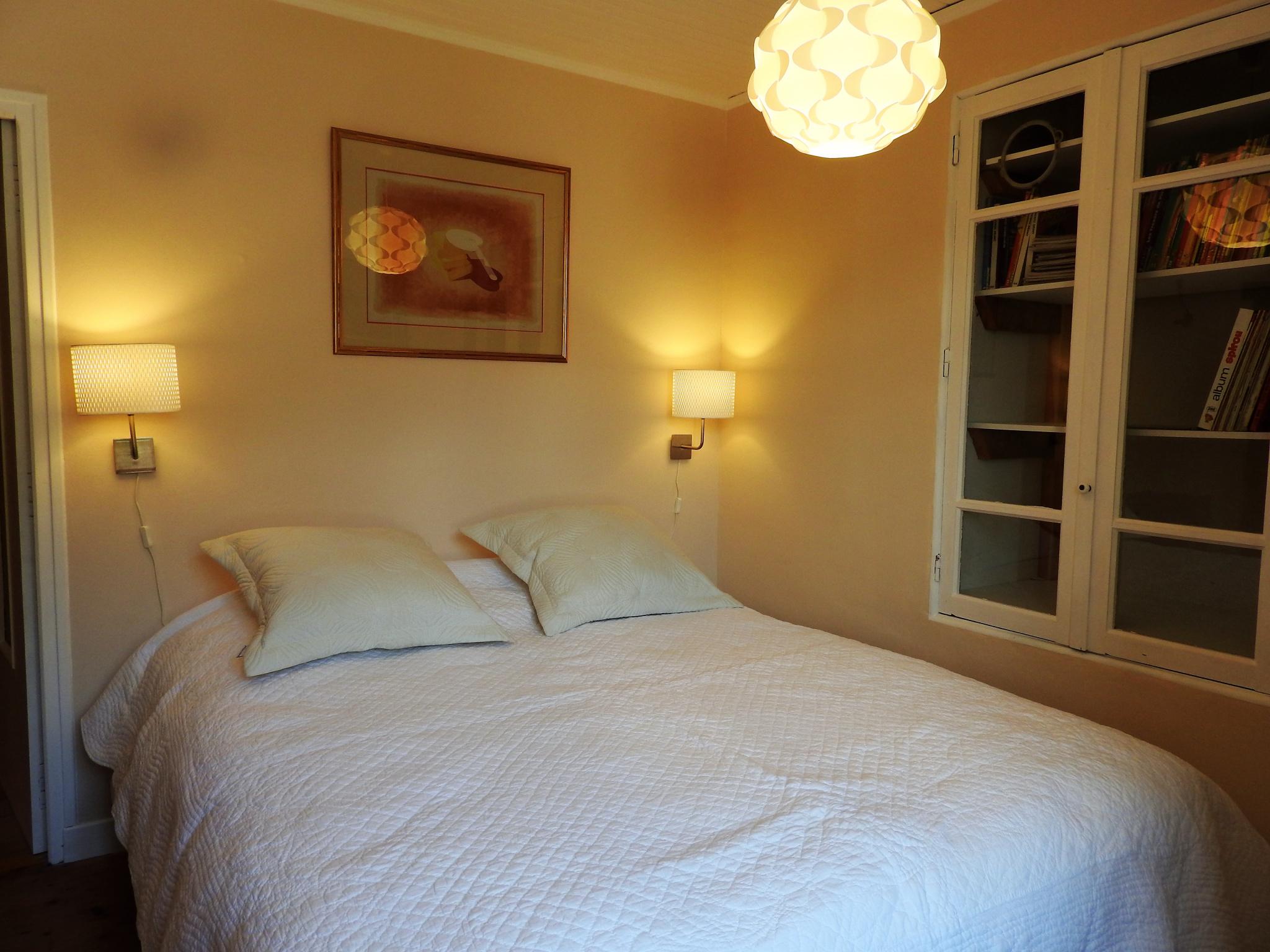 Chambre lit double